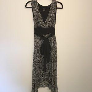 Arden b beautiful 100% silk dress with silk lining